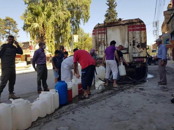 قطع آب آشامیدنی ساکنان حسکه و حومه آن برای یازدهمین روز متوالی