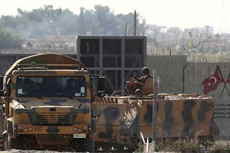 حمله یک هواپیمای ناشناس به پایگاه نیروهای ترکیه ای در سوریه