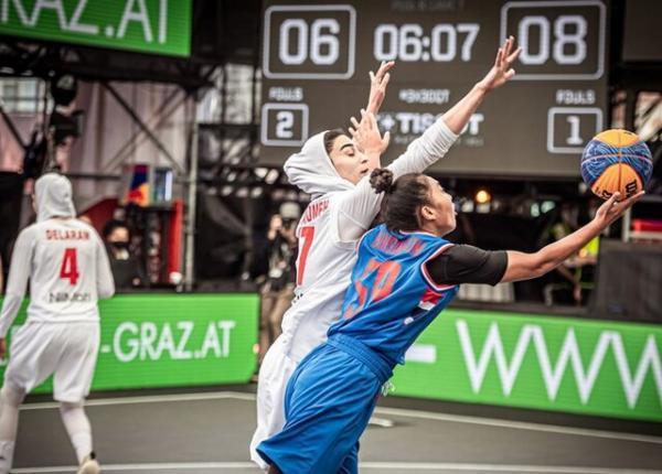 خاتمه رقابت های بسکتبال اتریش با صعود 6 تیم به المپیک، زنان ایران بین 20 کشور نوزدهم شدند