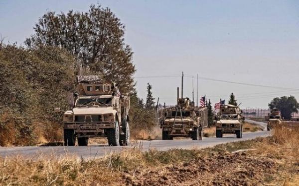 گشت زنی آمریکایی ها در مرزهای عراق و سوریه