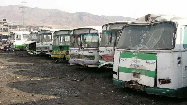 اتوبوس ها در کشور اسقاط نمی شوند!