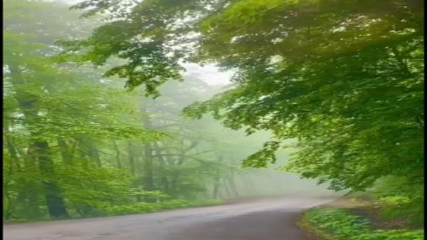 گشت و گذاری در جاده مه آلود اسالم به خلخال